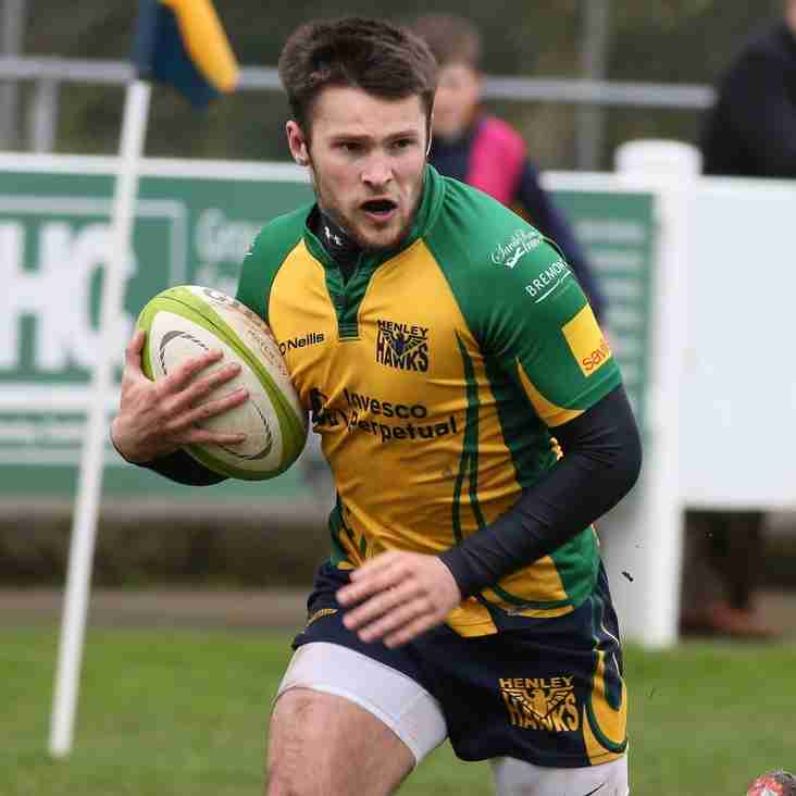 HAWKS GO WEST TO CINDERFORD