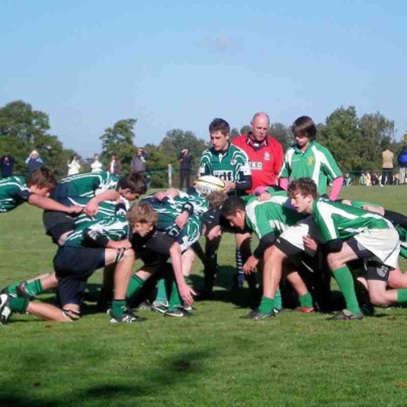 U16s vs Horsham 24.10.10