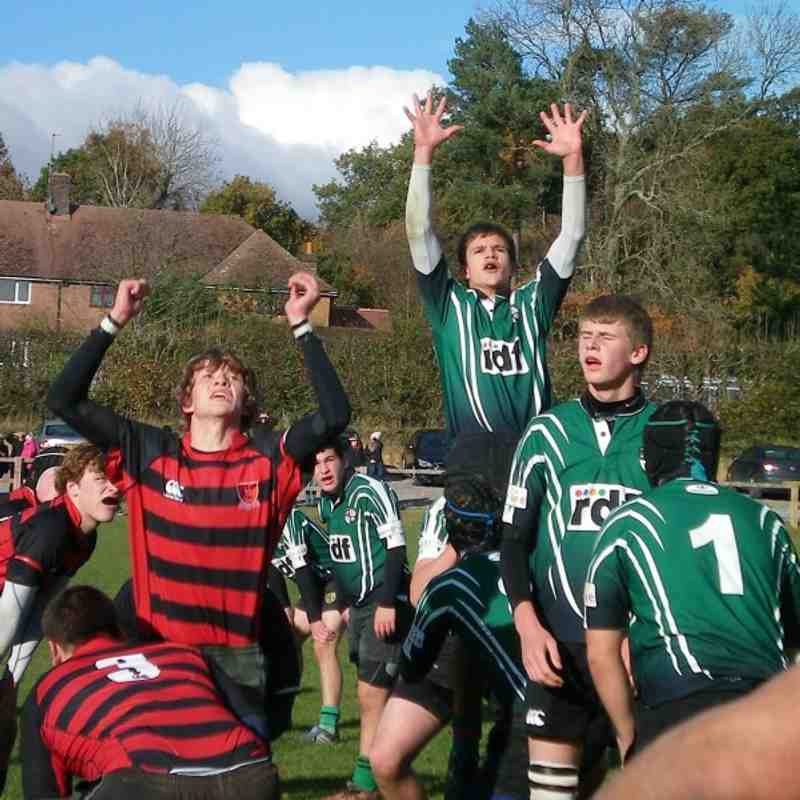 U16s vs H.Heath 7.11.10