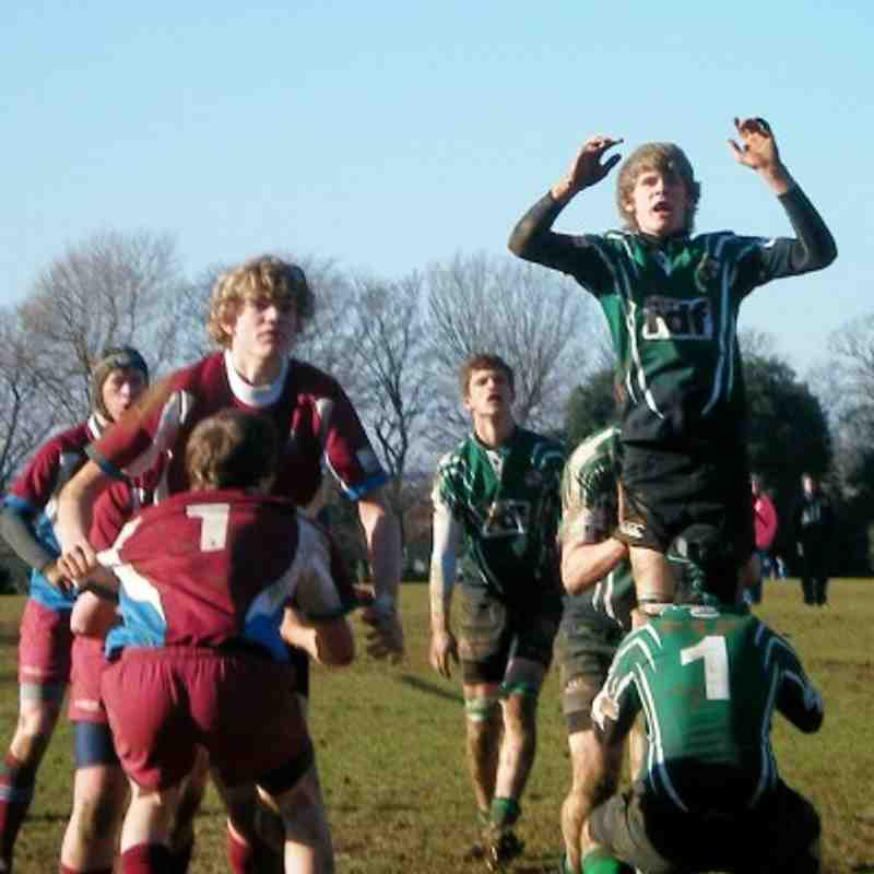 U16s vs Hove Jan11