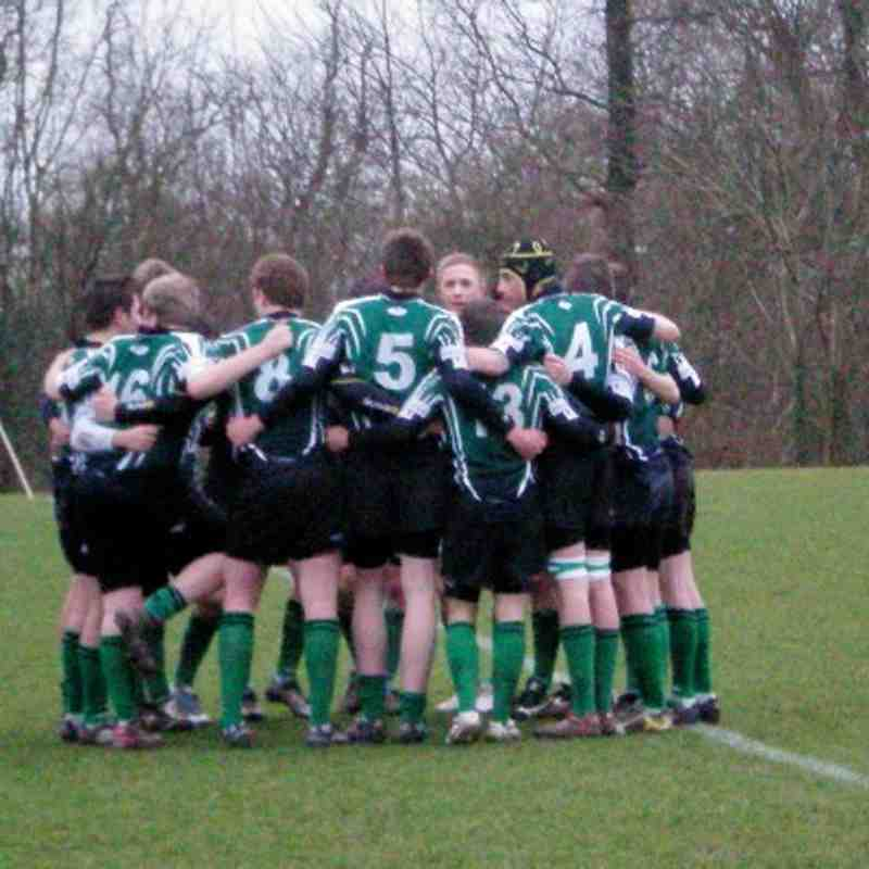 U16s vs Aylesford Feb11