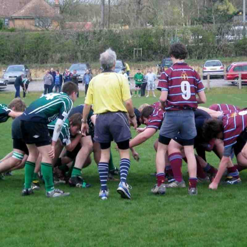 U16s vs Crawley Apr11