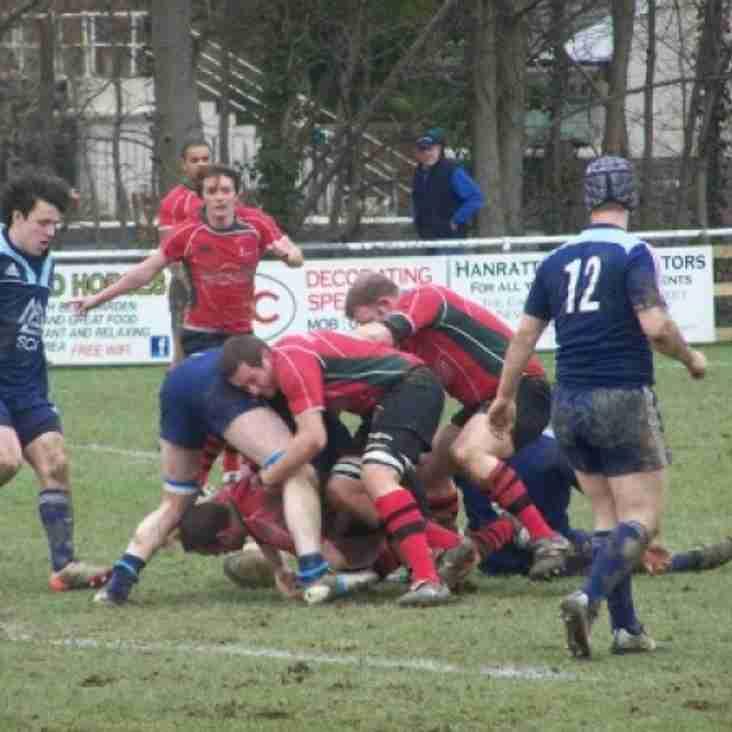 Newtown 1st XV 33-13 Welshpool 1st XV