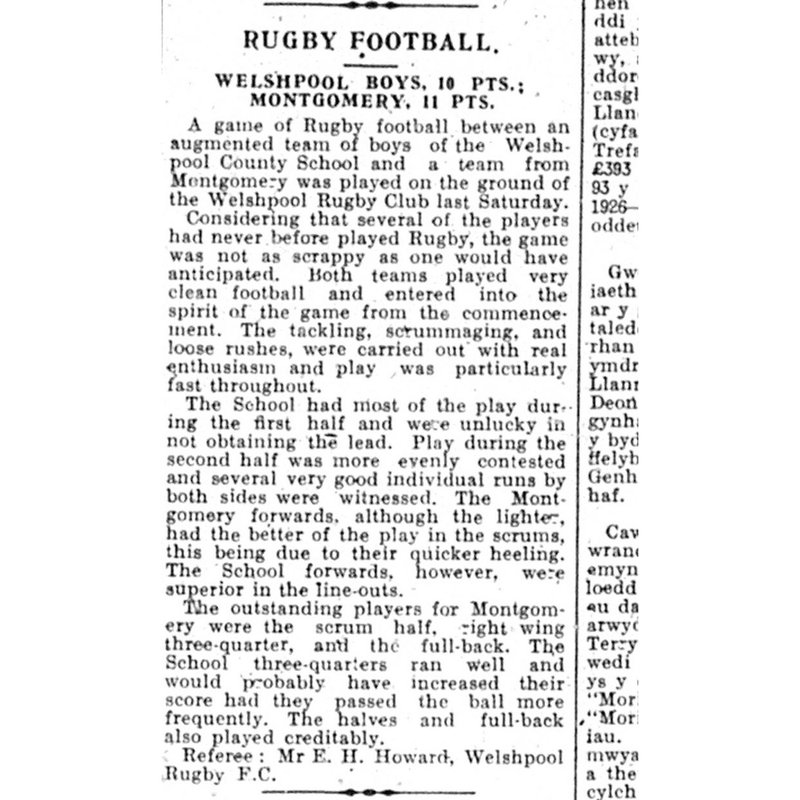 1926-27 - The Very First Season