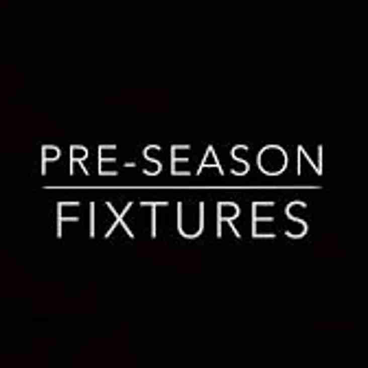Pre Season August 18th and 19th