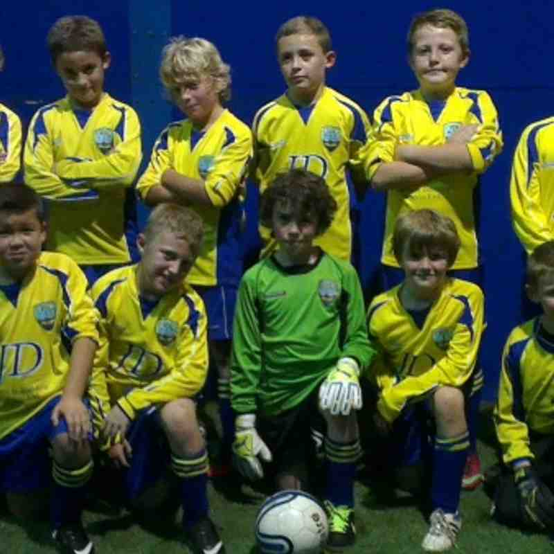 Tynemouth United under 10 Blues