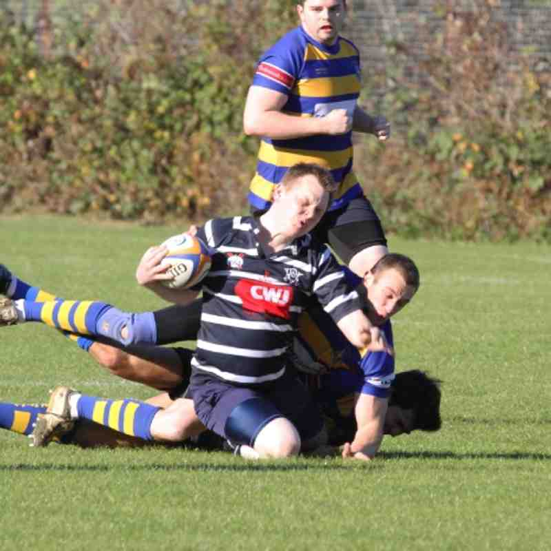 3's vs. Old Elthamians - 15/10/11