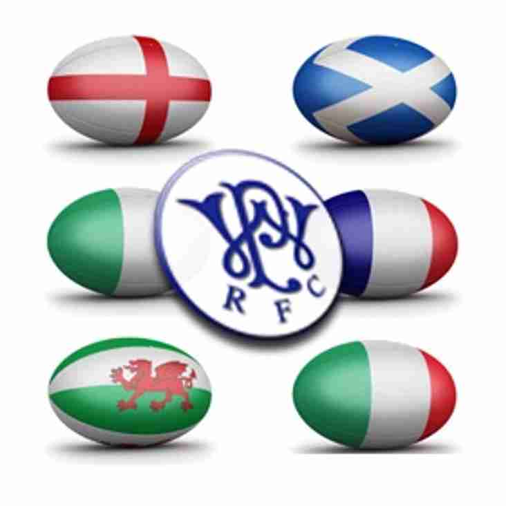 6 Nations Sweepstake  - Results