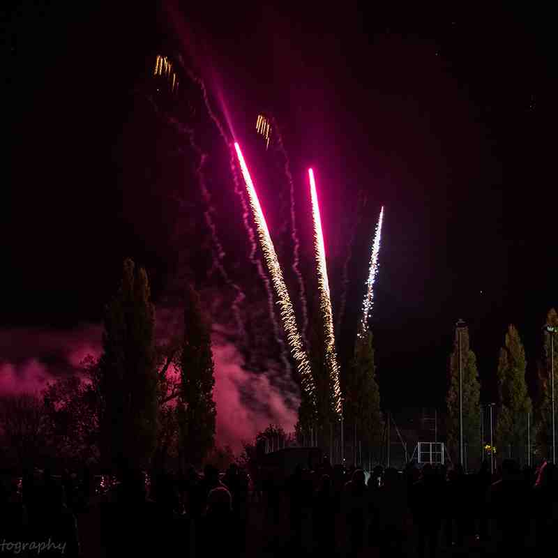 Bury St Edmunds Rugby Club Fireworks 2018