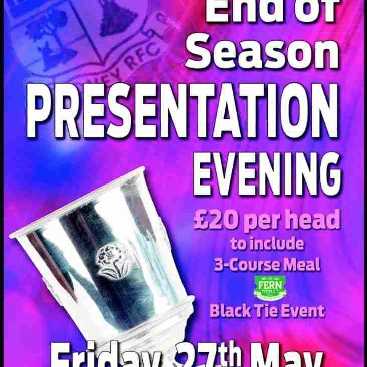 End of Season Presentation