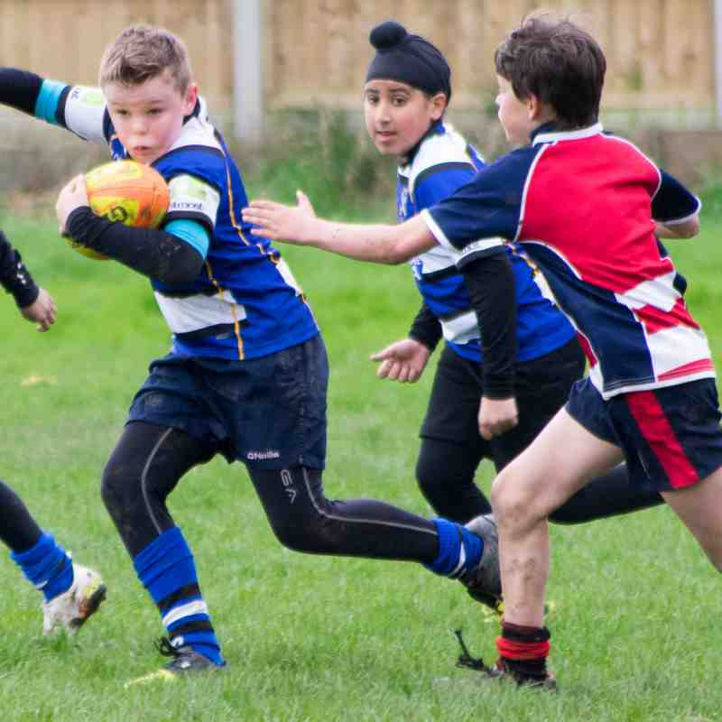 Yarnbury U11s v Morpeth April 2017