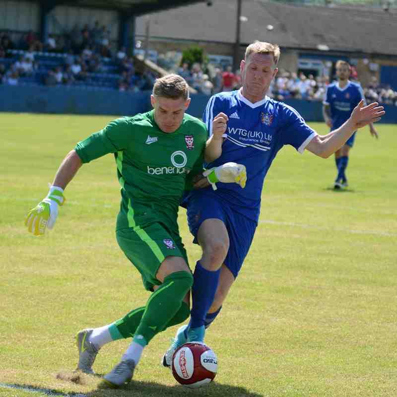 Farsley v York Pre season 8th July 17