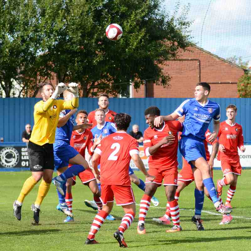 Farsley v Rushall Olympic - Aug 17