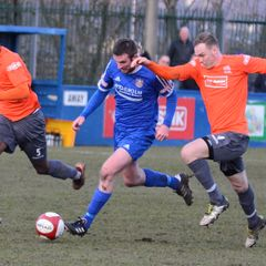 Farsley v Stafford Rangers 17th Feb 18