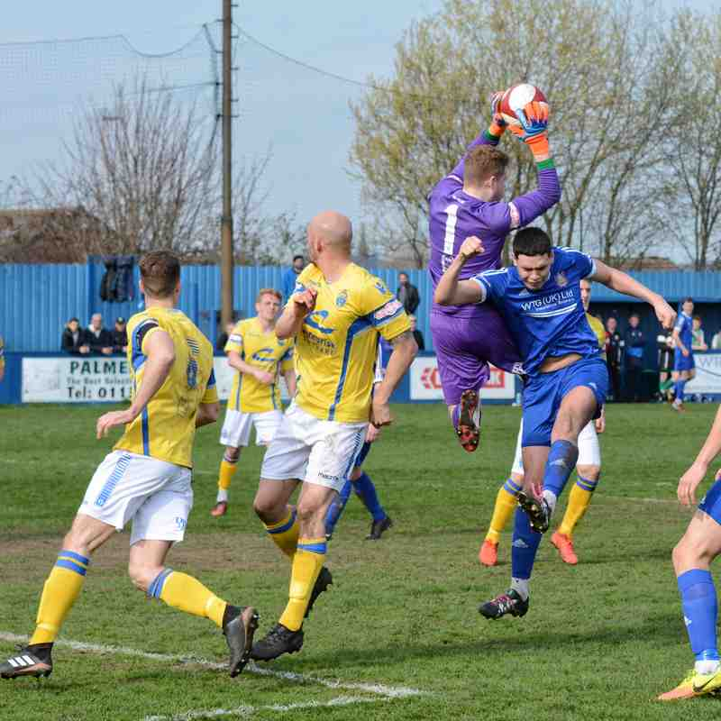 Farsley v Warrington