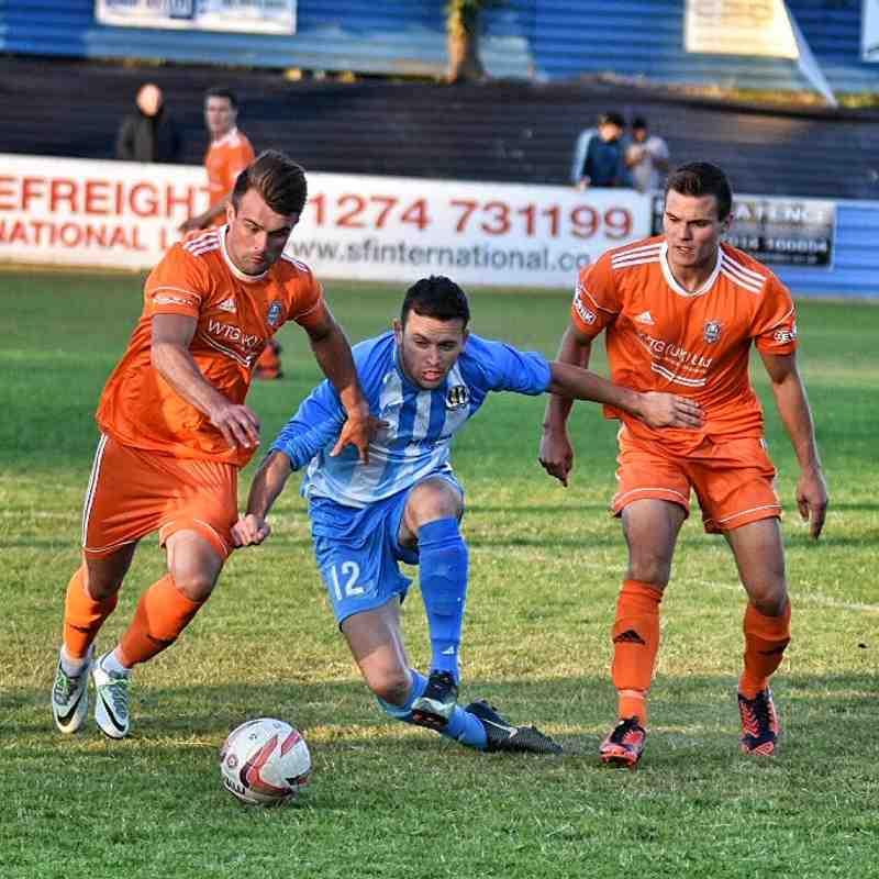 Eccleshill v Farsley pre season July 18
