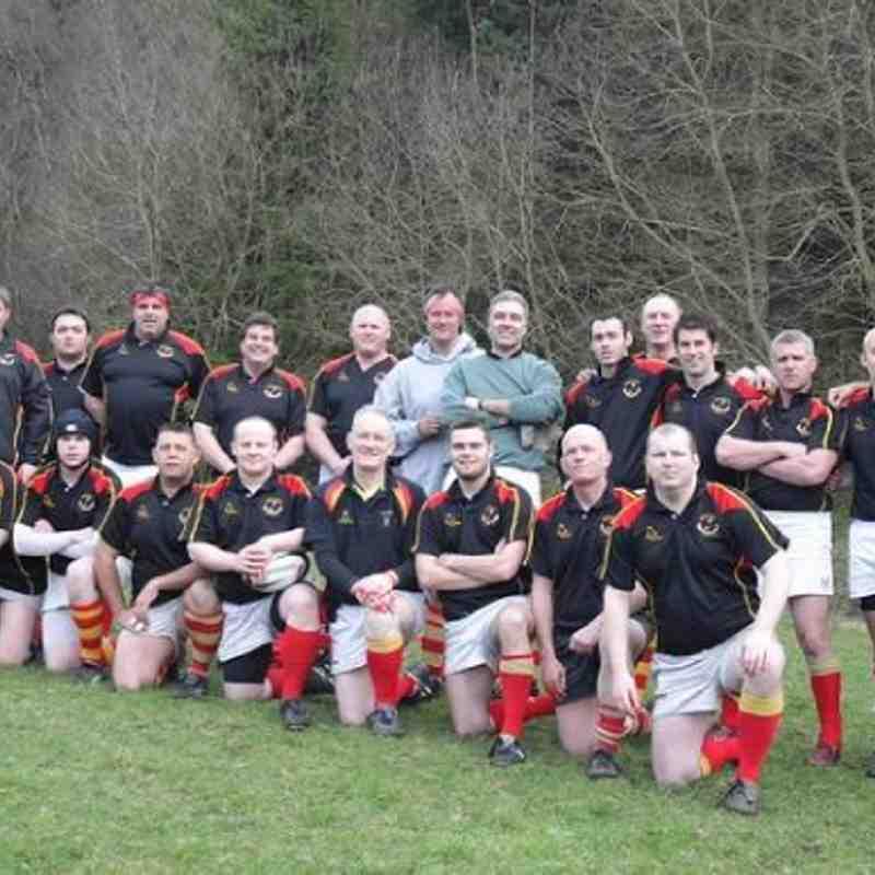 Cup Final Border Park 31 March 12