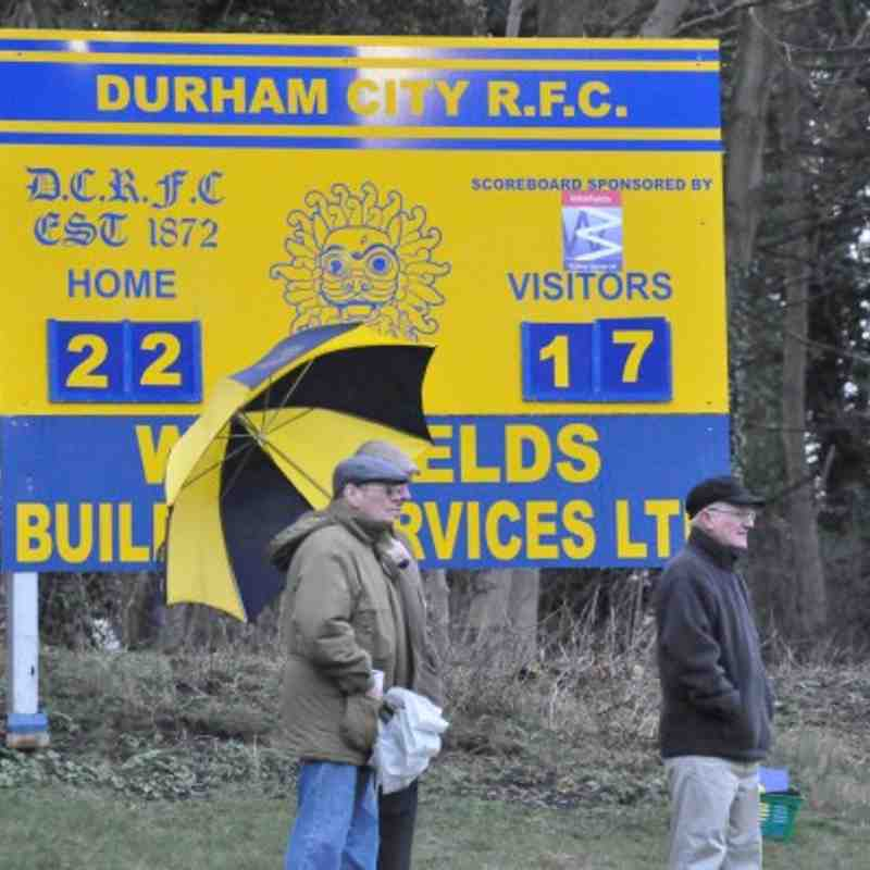 Durham city 22 Old Brods 17 - 12th March 2011