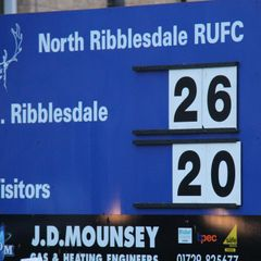 North Ribblesdale 26 Old Brods 20 - November 11th 2017
