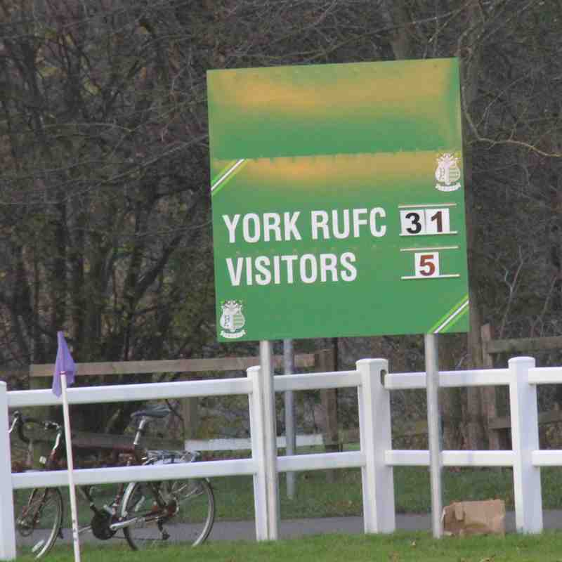 York 31 Old Brods 5 - December 2nd 2017