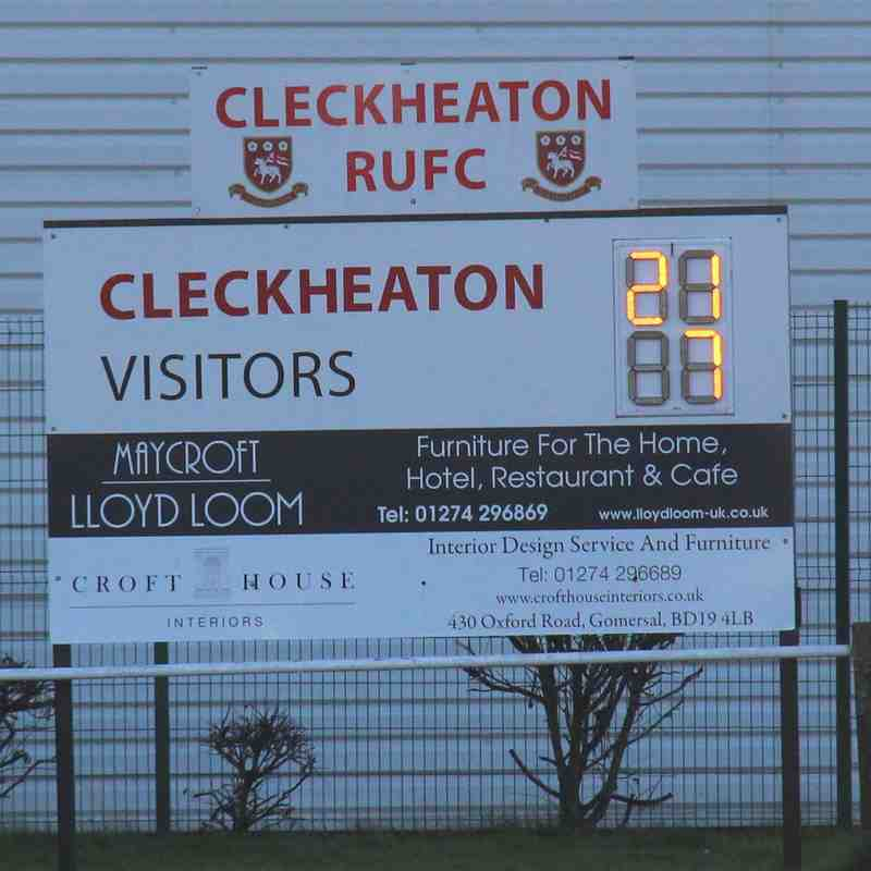 Cleckheaton 21 Old Brods 7 - Boxing Day 2017