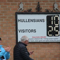 Hullensians 10 Old Brods 25 - Sept 8th 2018