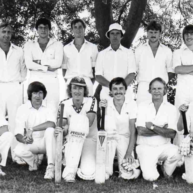 Watlington CC - 1983 Airey Cup Runners Up
