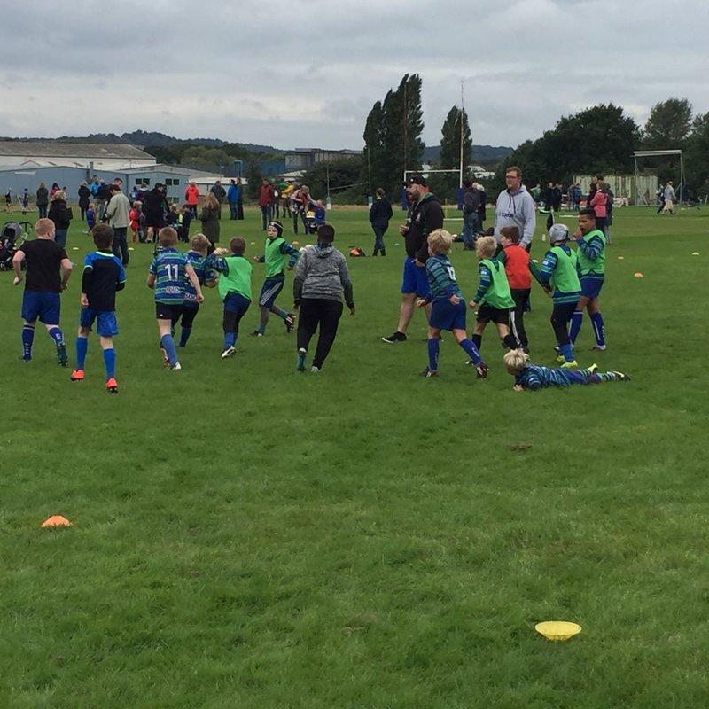 Under-10s training - 10th September 2017