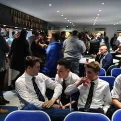 Clubhouse rammed for junior awards night