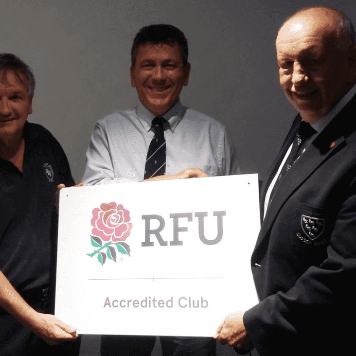 Lewes is RFU accredited club