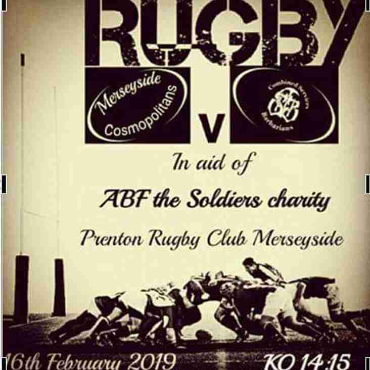 The Barbarians are coming to Prenton update.