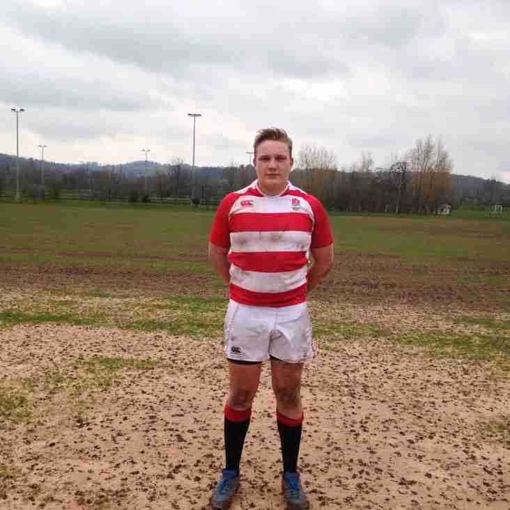 Will Scholey selected for England Counties Under 20s