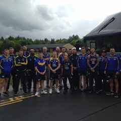 Leeds Rhinos depart from Harrogate Rugby Club for Magic Weekend