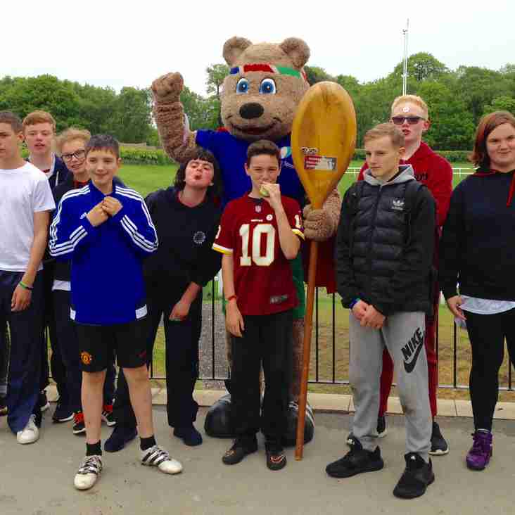 Wooden Spoon Special Schools event at Harrogate Rugby Club a big success