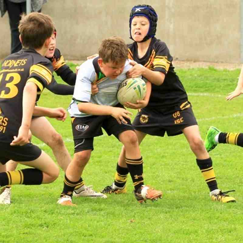 Season 2016 u8s friendly Wath Brow v Culcheth Eagles
