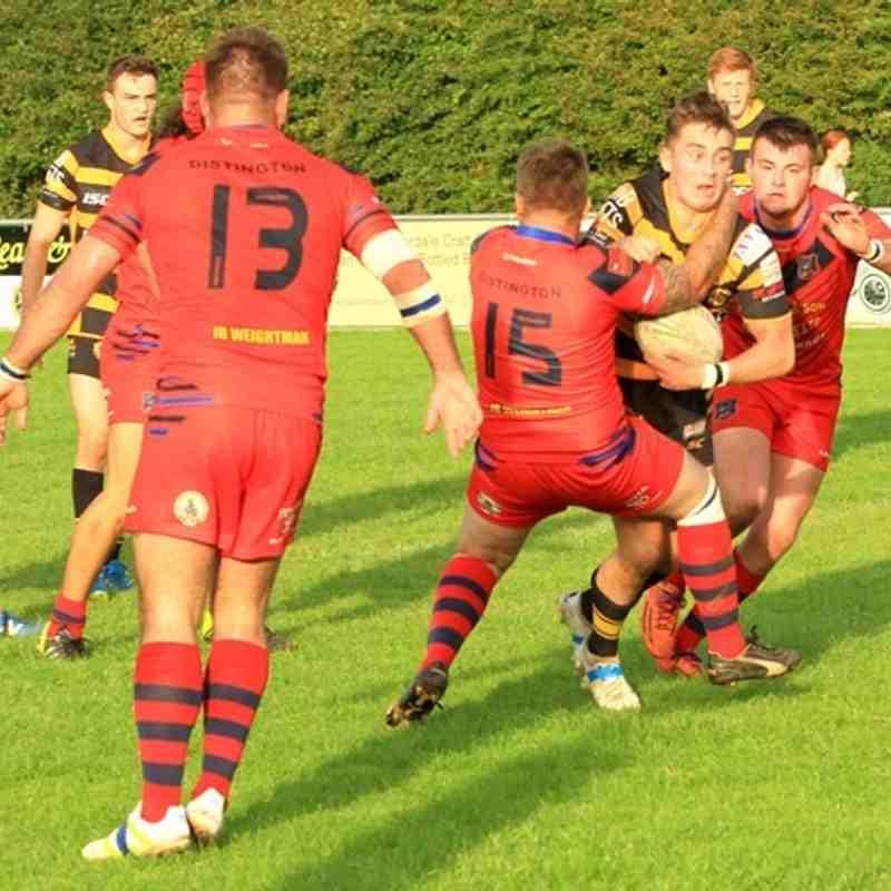 Season 2016 Cumberland cup semi final Wath Brow A v Distington