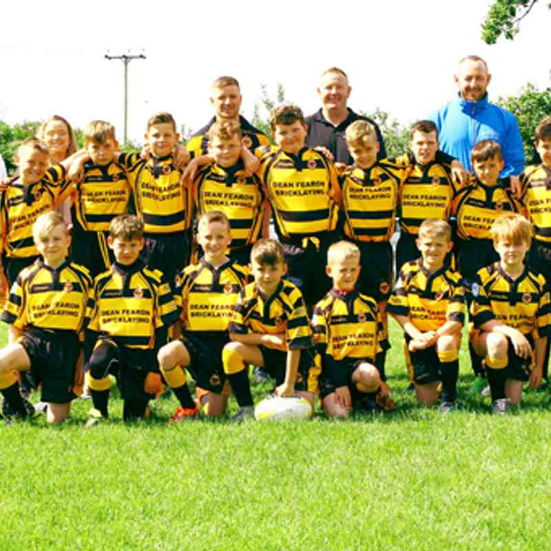 Season 2017 u11s League Wath Brow v Kells