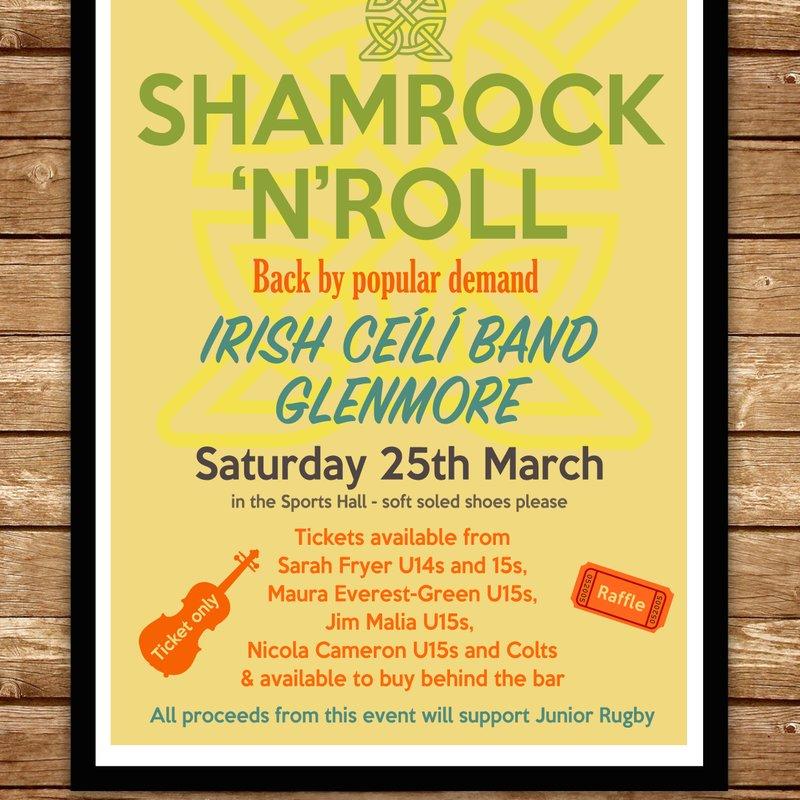 Shamrock'n'Roll - Saturday March 25th