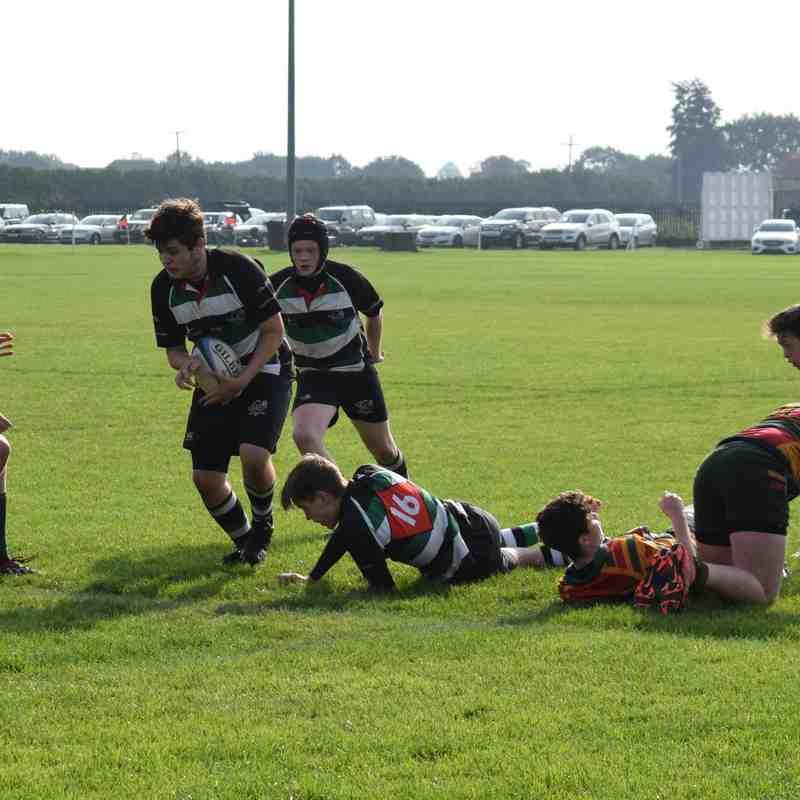 U16s Selby (Sue's photos)
