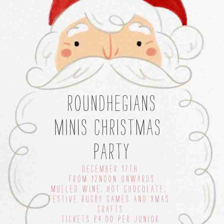 Minis Christmas Party - December 17th