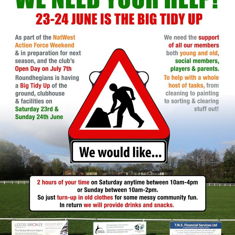 Big Tidy Up June 23-24