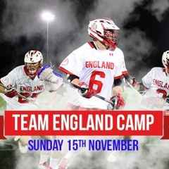 Team England Camp and Exhibition Game
