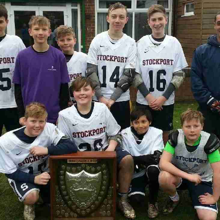 U14s 6-a-side tournament at Stockport Lacrosse Club