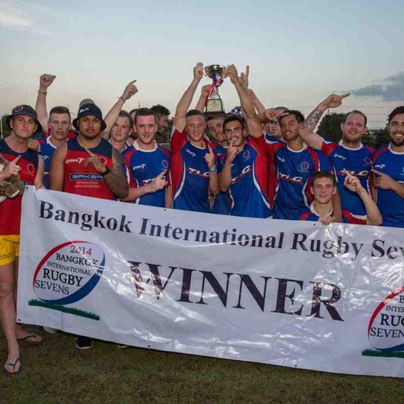 Bangkok 7s 2014 - Cup Winners