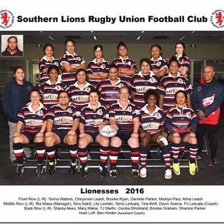 Round 7 Lionesses 2017 vs Swan Suburbs RUFC