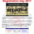 2017 Southern Lions Registration Day