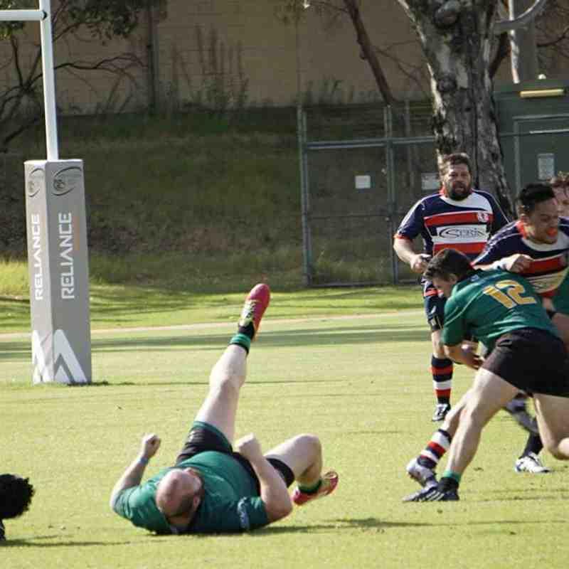 Round 4 2017 Champ B2 vs Perth Irish