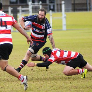 2017 Champ A Round 13 vs Arks RUFC