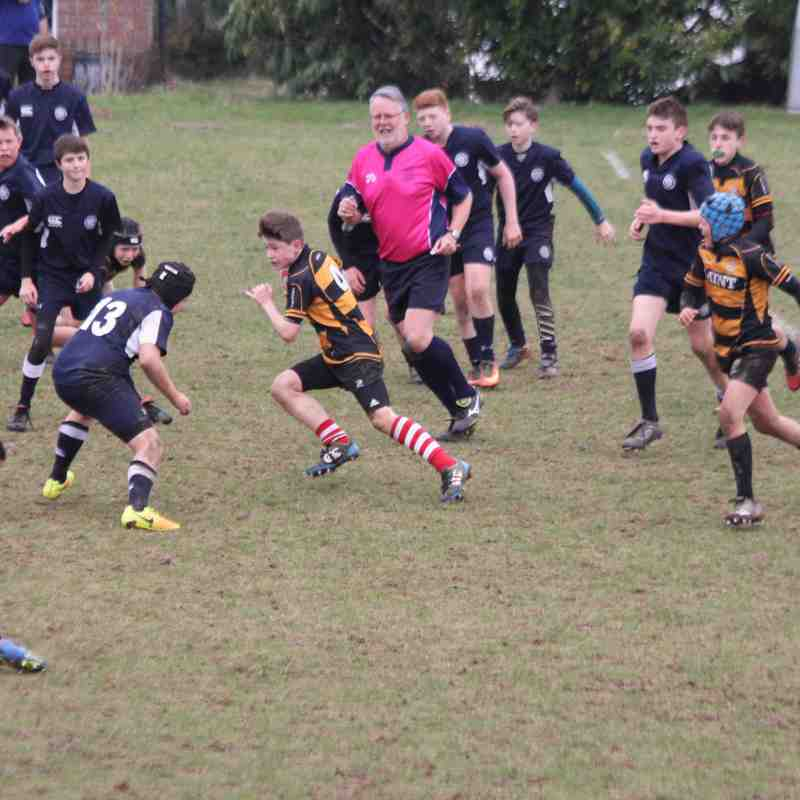 vs East Grinstead Away U13