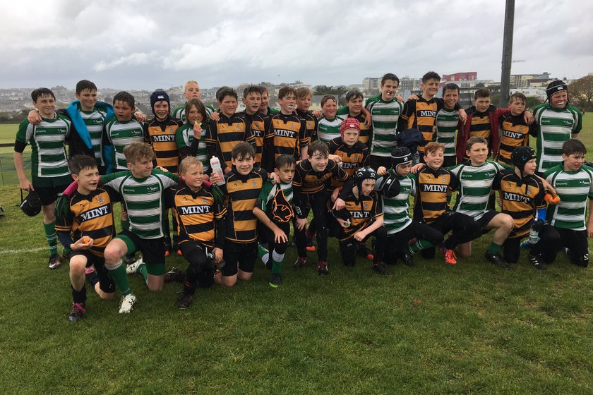 Under 14 trail Eastbourne 19 - 22